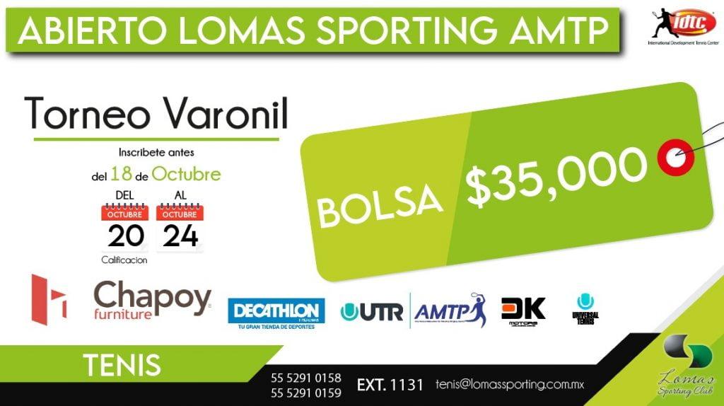 Abierto Lomas Sporting AMTP